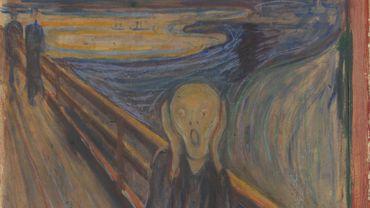 """L'auteur de l'inscription blessante sur """"Le Cri""""? Munch lui-même, conclut un musée"""