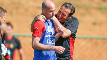 Laurent Ciman avec Marc Wilmots