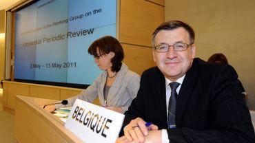 Steven Vanackere à Genève