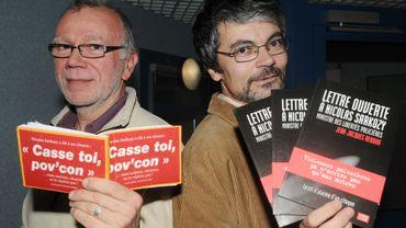 Hervé Eon, à gauche