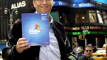 Windows  XP : peut-être le meilleur souvenir de Bill Gates