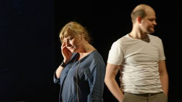 """Catherine Salée et Yoann Blanc dans """"La Musica deuxième"""" de Marguerite Duras m.e.s de Guillemette Laurent"""