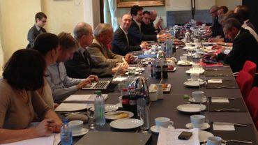 La réunion tripartite ArcellorMittal au siège du gouvernement wallon