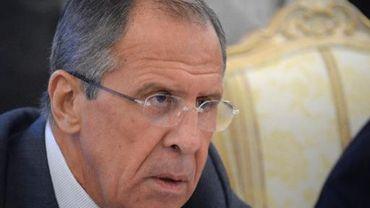 Le ministre russe des Affaires étrangères Sergueï Lavrov, le 17 septembre 2013 à Moscou