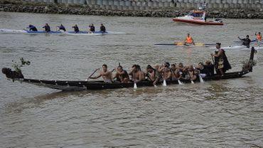 Lors de sa visite, le Prince Harry a été initié aux rites des Maori, sur le fleuve Whanganui, le troisième plus long cours d'eau de Nouvelle-Zélande