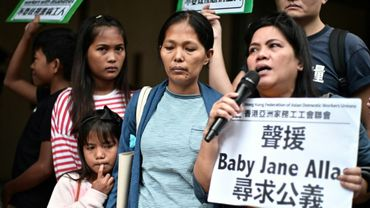Baby Jane Allas of the Philippines was diagnosed with stage three cervical cancer in January and fired by her employer, who cited the illness as the reason for termination