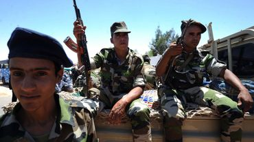 Des membres de l'Armée populaire de libération sahraouie du Front Polisario en juin 2016 (illustration).