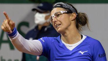 Kirsten Flipkens a remporté la première victoire belge de la saison 2021 de tennis, à Abu Dhabi