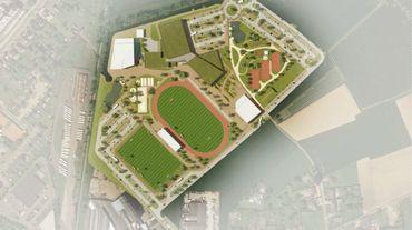 La plaine de la Gadale verra la construction dans un premier temps d'un hall sportif, d'une piscine et les routes qui y accéderont. Coût du projet : 22 millions d'euros. Le site de 12 hectares pourra aussi accueillir dans un deuxième temps des terrains de football, une piste d'athlétisme, un terrain de tennis couvert et une zone verte.