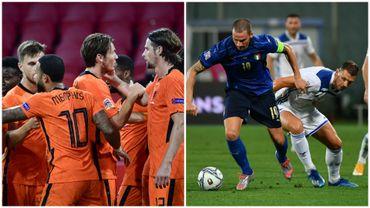 L'Italie accrochée par la Bosnie, les Pays-Bas assurent