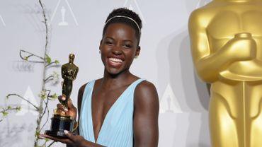 """Lupita Nyong'o a remporté l'Oscar 2014 du meilleur second rôle féminin, en incarnat Patsey dans le drame """"12 Years a Slave"""""""