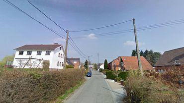 La rue du Fonterbois à Mont-sur-Marchienne