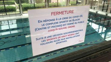 Le centre sportif du Blocry rouvre au grand public ce 1er juillet, mais il faudra encore patienter pour les piscines.
