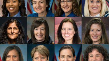 Les 12 femmes astronautes actuelles de la Nasa