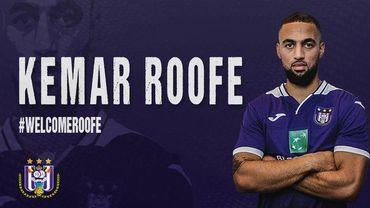 Kemar Roofe signe pour 3 ans à Anderlecht