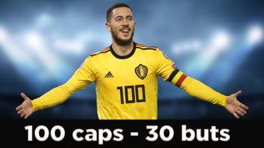 Les 10 plus beaux buts d'Eden Hazard avec la Belgique