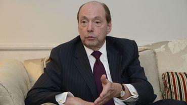 L'ambassadeur des Etats-Unis Ronald Gidwitz, un proche du président Trump à Bruxelles