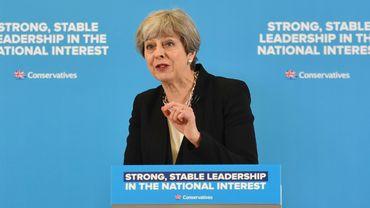 Theresa May est en campagne électorale
