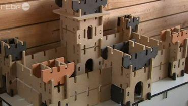 """Le château conçu par la marque 100% belge Ardennes Toys a été primé """"jouet de l'année"""""""