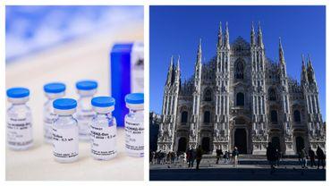 Vaccin Spoutnik V et Duomo de Milan, symbole de la capitale lombarde