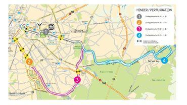 Bruxelles : marathon ce dimanche