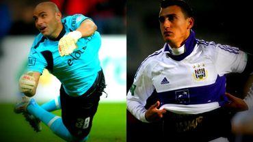 Sinan Bolat et Mathias Suarez