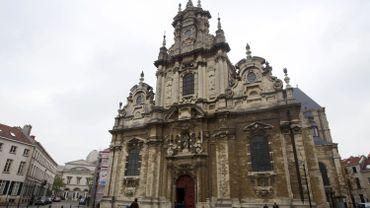 L'église du Béguinage de Bruxelles occupée par des sans-papiers