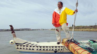 Ismael Patu-Huukena va parcourir les 22 700 km qui séparent Bayonne des îles Marquises