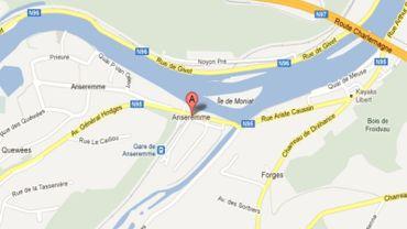 Le corps de la femme a été retrouvé dans un sentier à Anseremme, près de Dinant.