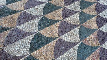 A Rome, une mosaïque des Thermes de Caracalla remise à neuf par Bulgari