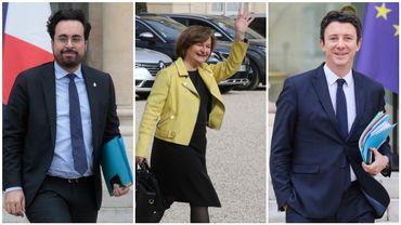 Mounir Mahjoubi (Numérique), Nathalie Loiseau (Affaires européennes) et Benjamin Griveaux (porte-parole) quittent le gouvernement pour faire campagne.