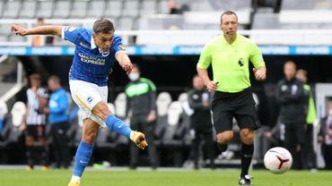 Leandro Trossard encore décisif avec Brighton.
