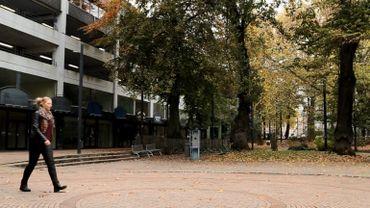 Le parc Léopold à Namur