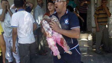 Comme depuis le début des frappes israéliennes, les enfants palestiniens paient un lourd tribut. L'armée israélienne a tué beaucoup plus d'enfants que de combattants, rappellent plusieurs ONG.