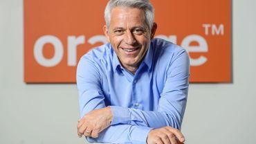 Xavier Pichon, CEO d'Orange Belgium