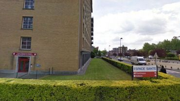 """Le bâtiment qui abrite """"Espace Santé"""" à Charleroi"""