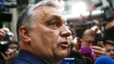 Victor Orban à Bruxelles, le 21 février dernier