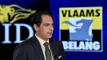 Le compte Twitter du président du Vlaams Belang, Tom Van Grieken, a été bloqué