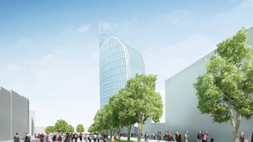 La future tour des finances, illustration