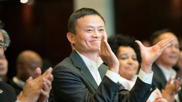 Jack Ma, cofondateur du géant chinois Alibaba, le 7 août 2018 à Cape Town