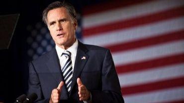 Le candidat à la primaire républicaine Mitt Romney à Charleston, en Caroline du Sud, le 7 octobre 2011