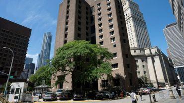 La prison fédérale de Manhattan le 10 août 2019