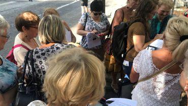 Liège: balade de seniors en smartphones à travers la ville