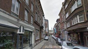 La rue Léopold, à la ville-basse.