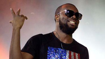 Le rappeur d'origine congolaise Maître Gims est l'un des artistes les plus écoutés sur Deezer en 2015