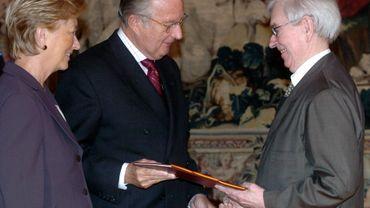 Charles Vandenhove, anobli par le Roi en 2004
