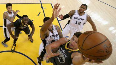 Deuxième victoire de Golden State sur les Spurs