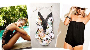 Tendances maillots de bain : le modèle une-pièce, toujours plus glamour