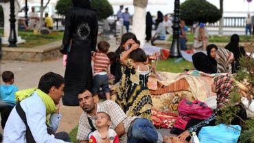 Les réfugiés syriens arrivent en masse en Algérie