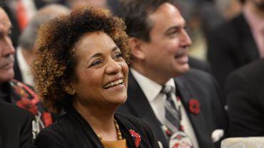Michaëlle Jean a fui Haïti à l'âge de 11 ans et trouvé refuge au Canada où elle a occupé l'un des plus hautes fonctions officielles de l'État.